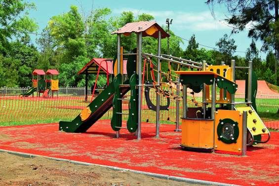 De nouveaux jeux pour enfants au parc de La Coulée