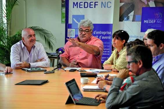 Le Medef pour un « tournant » politique