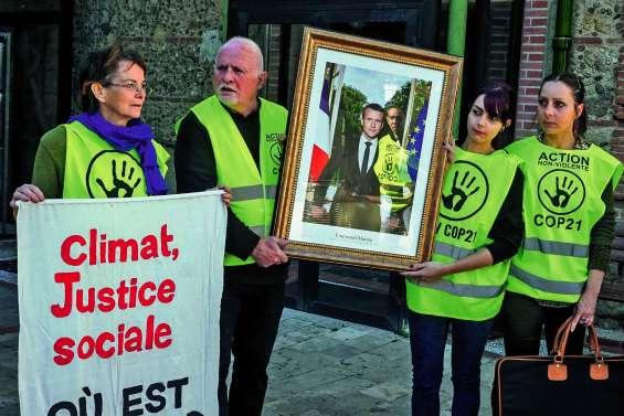 « La voix du climat » se fait entendre devant François de Rugy