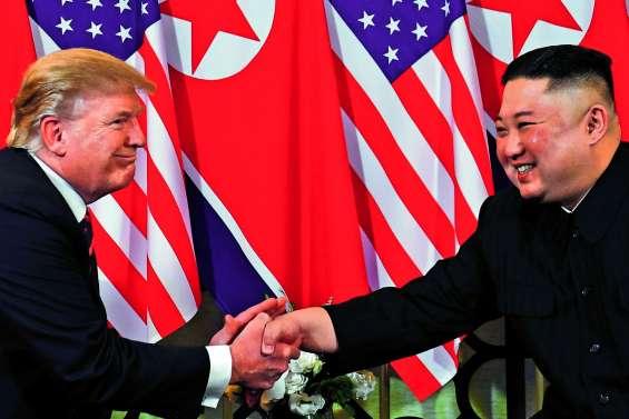 Kim et Trump se quittent bons amis mais sans accord