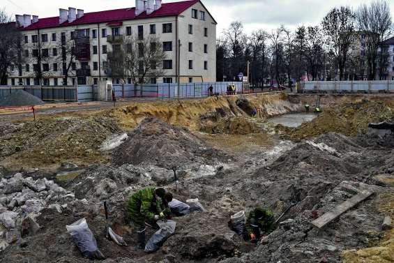 Une fosse commune découverte sur le site d'un ancien ghetto juif