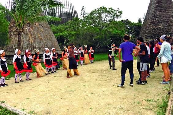 Les Basques relayent la Korrika à Nouméa