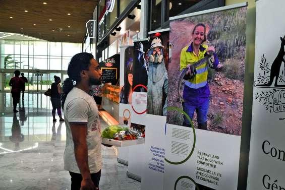 L'exposition « Les Femmes et la mine » se déplace au Dumbéa Mall
