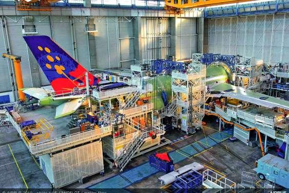 En assemblage final chez Airbus, le premier A330neo d'Aircalin prévu pour juillet