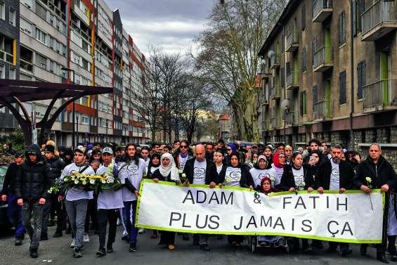 Nouveaux incidents après une marche blanche à Grenoble
