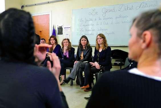 Ecologie, éducation, justice : échanges détendus dans une prison pour femmes