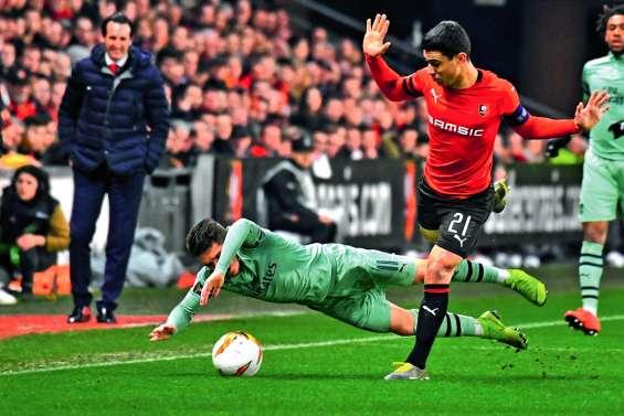Rennes bat Arsenal et rêve d'un premier quart de finale européen