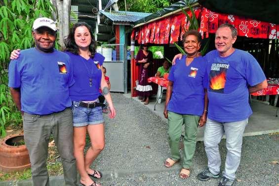 Solidarité Tanna collecte avant de partir à Mallicolo