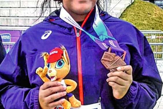 Ashley Bologna médaillée de bronze en Slovaquie