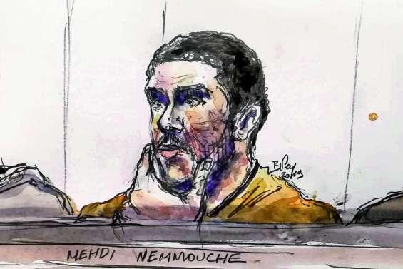 Prison à vie pour Mehdi Nemmouche, tueur « psychopathe » sans remords