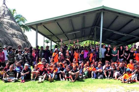 Deux cents collégiens ont participé à une grande randonnée