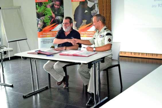 Un nouveau partenariat entre le RSMA et Nord Avenir