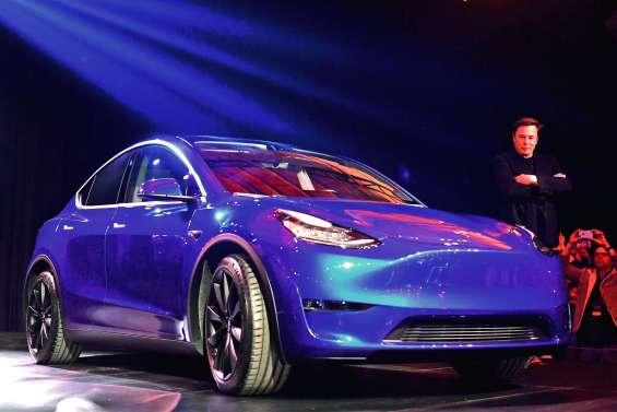 Le nouveau pari de Tesla : le Model Y, un SUV électrique