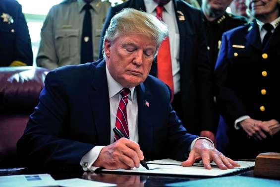 Donald Trump veut son mur à tout prix