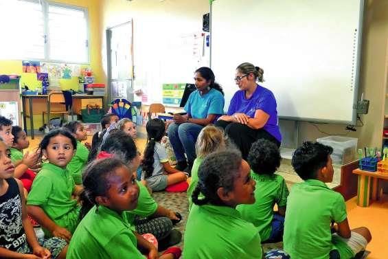 Des élèves de maternelle formés à repérer les gîtes larvaires