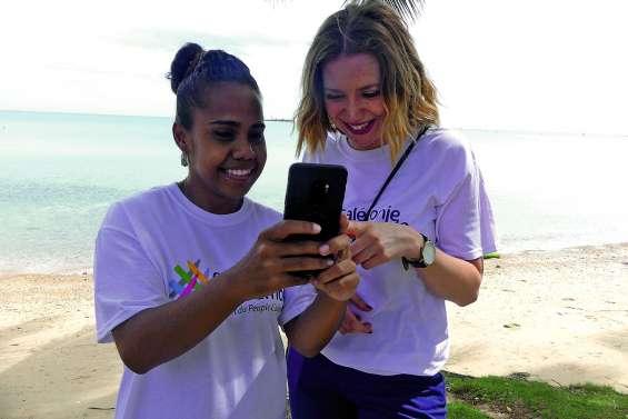 Calédonie ensemble présente son application mobile