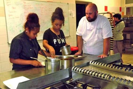 Les lycéens d'Augustin-Ty dans le concert de la gastronomie mondiale