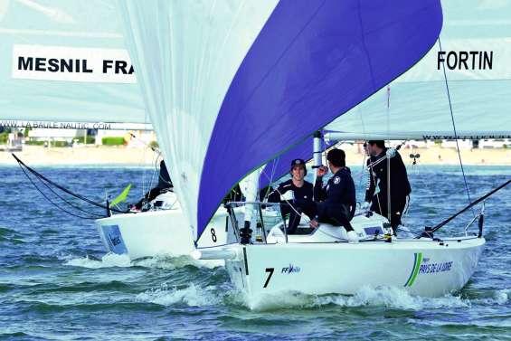 La « NewCal Sailing Team » éliminée en quarts aux France
