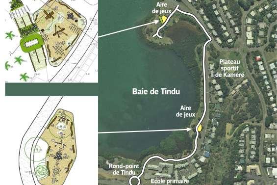 Un parc urbain prendra bientôt forme  le long de la mangrove à Tindu