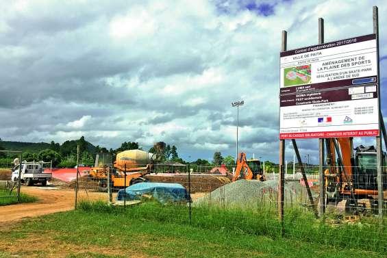 Les investissements se poursuivent à Païta en 2019