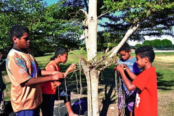 Un centre de loisirs  à la tribu de Gamaï