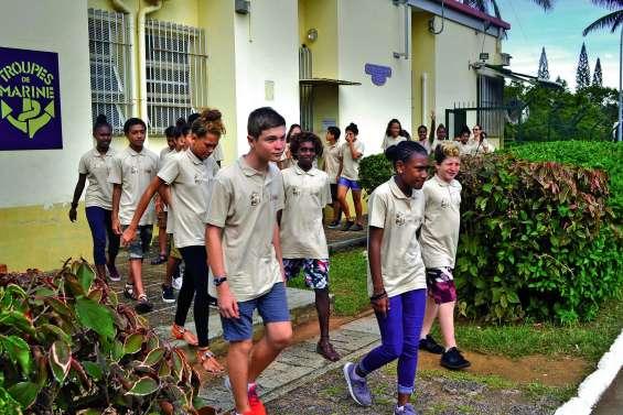 Vingt-deux collégiens de Boulari découvrent le Camp Broche
