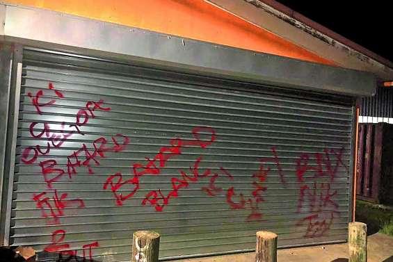 Tags racistes à Ouégoa,  les auteurs devant la justice
