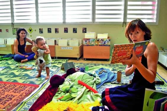 Les bébés reprennent leur lecture  à la médiathèque du Dock socioculturel
