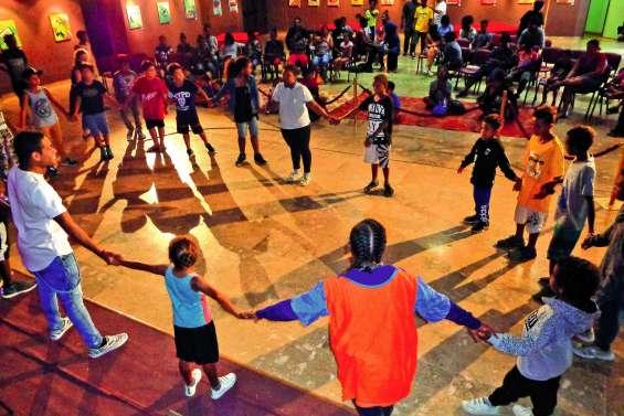 Le hip-hop s'est posé au centre aéré