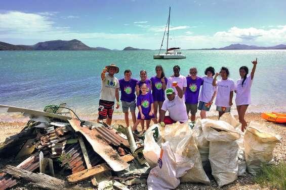 Une opération de nettoyage à l'îlot Doumbé