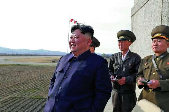 Kim Jong-un supervise l'essai d'une « arme puissante »