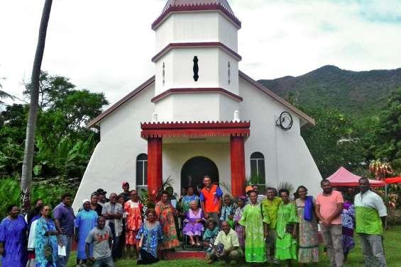 Une seconde vie pour la chapelle du village de Houaïlou