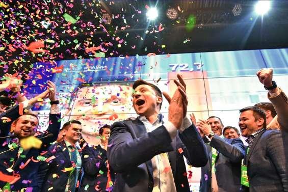 Le triomphe du comédien Zelensky à la présidentielle