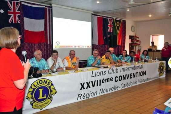 Les clubs Lions du Caillou et du Vanuatu font le bilan
