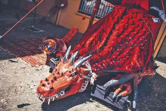 Vends dragon d'une centaine de kilos