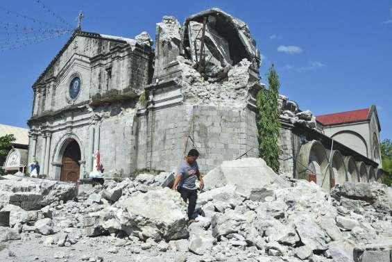 La terre a encore tremblé aux Philippines
