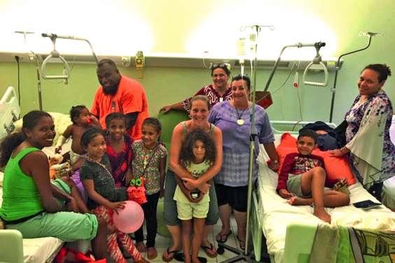 Les cloches sont passées à l'hôpital Paula-Thavoavianon