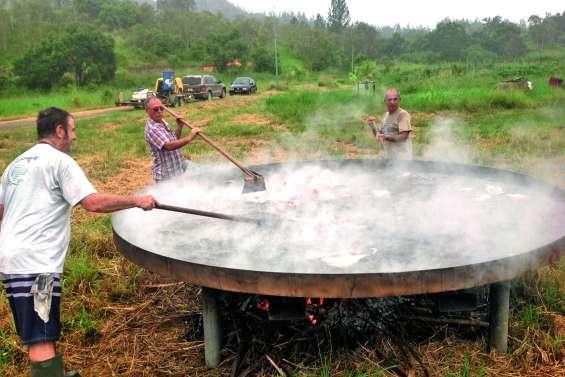 8 000 œufs prêts à être cassés pour l'Omelette géante