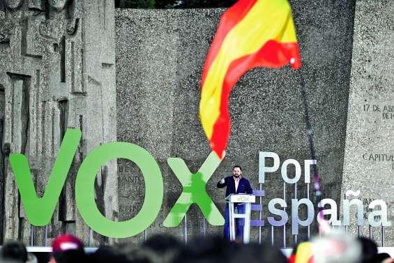 L'extrême droite espagnole occupe  et domine les réseaux sociaux