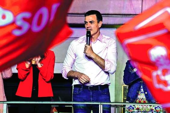 Pedro Sanchez gagnant, mais sans majorité
