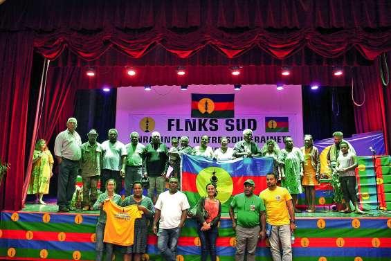 Le FLNKS Sud  a présenté son programme à La Foa