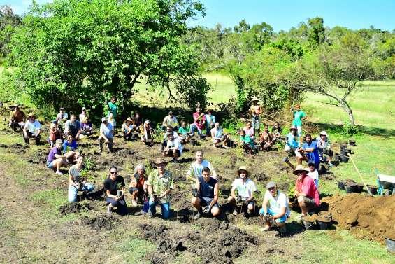Une plantation en hommage aux victimes de Christchurch