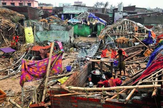 Cyclone Fani : le pire semble évité