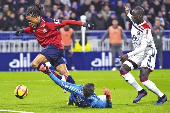 Lille prend un point à Lyon et se rapproche du but