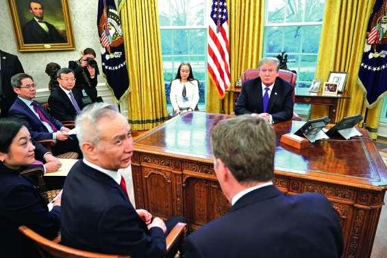 Guerre commerciale : Trump remet la pression sur Pékin