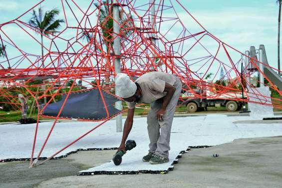 Le parc urbain de Sainte-Marie ouvrira ses portes dimanche matin