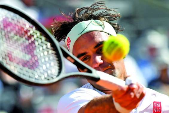 Federer jouera à Rome avant Paris