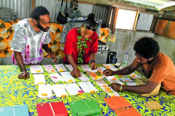 Electorat dispersé à Ouvéa et à Maré