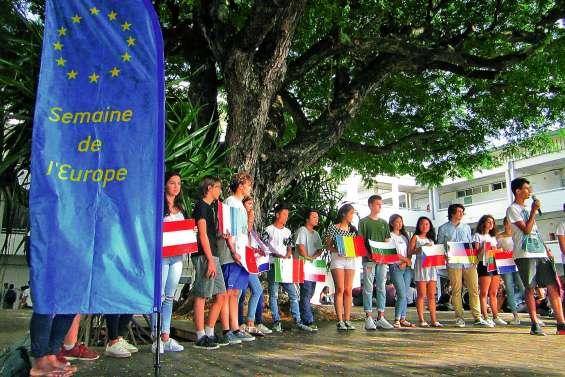 Le lycée Lapérouse à l'heure européenne toute la semaine
