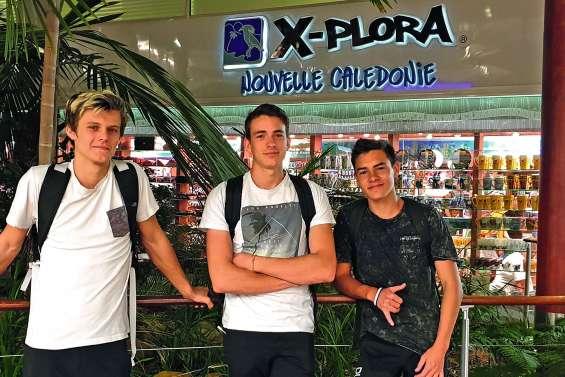 Trois jeunes Cagous face aux meilleurs grimpeurs d'Europe